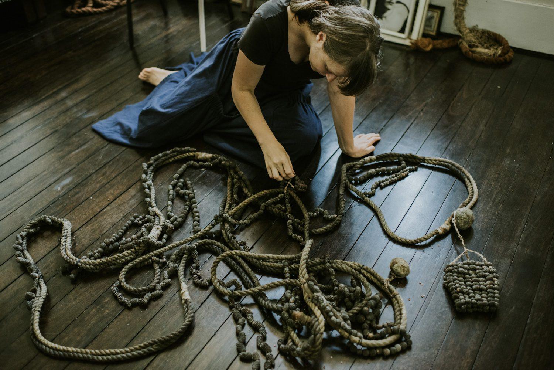 Rachel Peachey in Racket's Katoomba studio