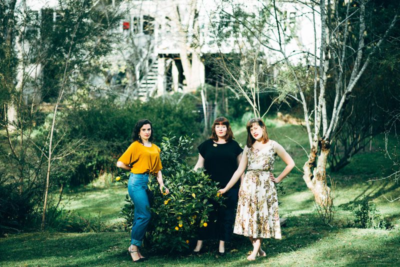 Caitlin Shearer, Eloise Chapman & Georgia Blackie