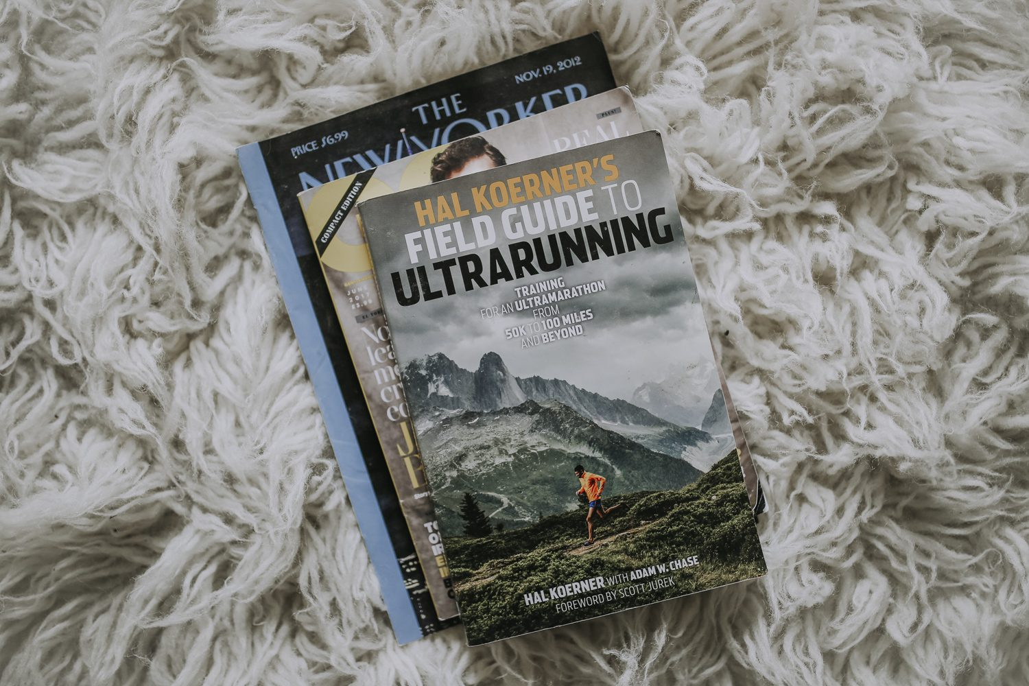Justin Hunter aka Em Flach books about ultra running