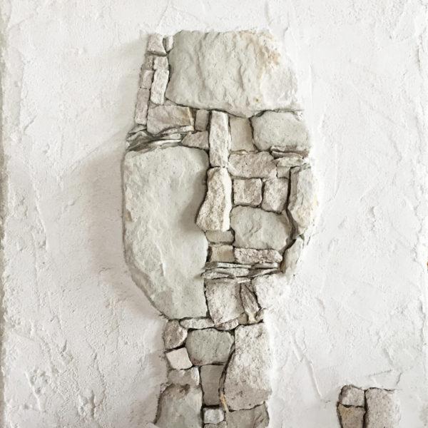 Saskia Kremer stone art detail