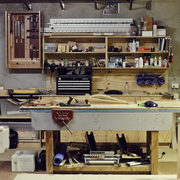 Artisan woodworkers studio